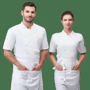 Italian Short Sleeve Chef Uniform
