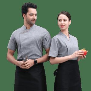Dessert Chef Uniform Short Sleeve