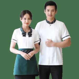 Short Sleeve Chef Uniform