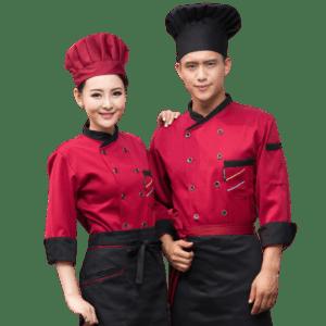 Cook Uniform Short or Long Sleeve