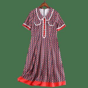 Lady's One-piece Dress