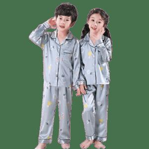 Children's Silk Pajamas