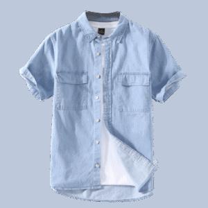 Men's Cotton Short Sleeve Shirts