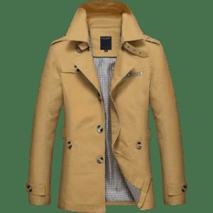 Men's Casual Long Jacket