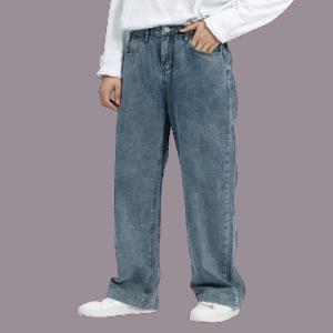 Elderly Men's Jeans Pants
