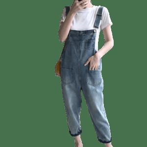 Women's Jeans Jumpsuit