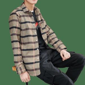 Men's Cotton Shirts Long Sleeve