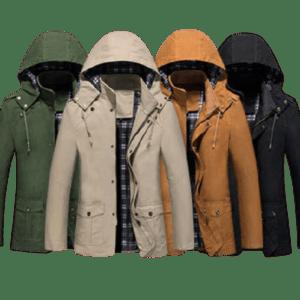 Men's Hooded Wind Coat