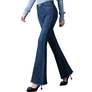 Lady's Bell-bottomed Jeans