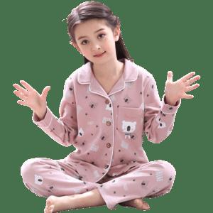 Girl's Cotton Pajamas Sets