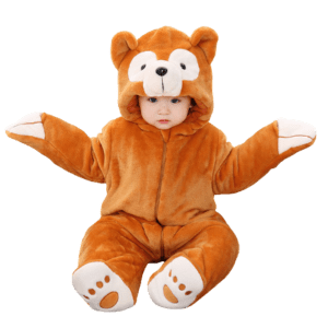 Baby's Crawling Suit for Winter
