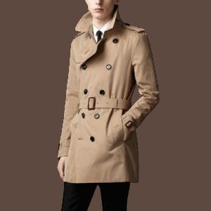 Men's Long Wind Coat
