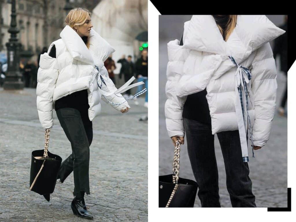 White Down Jacket 17