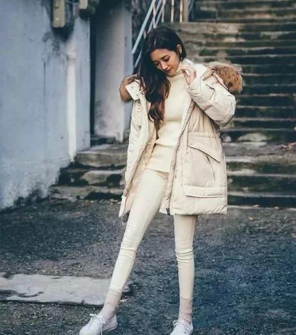 White Down Jacket