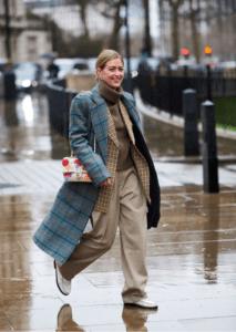 shirt and turtleneck under coat 6