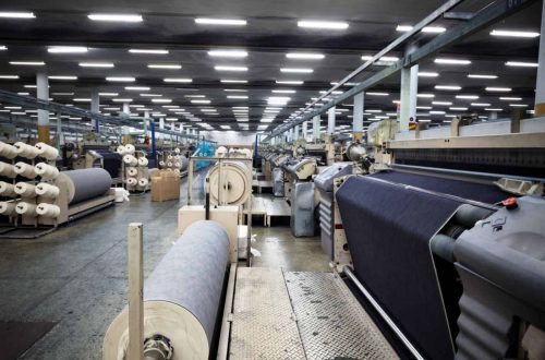 Fabric Factory Inner View