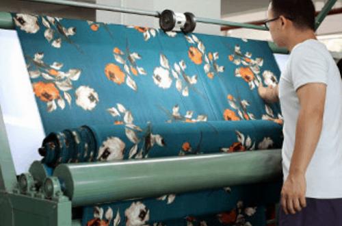 A Fabric Factory In Zhejiang